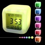 LCD-Clock-with-LED-light